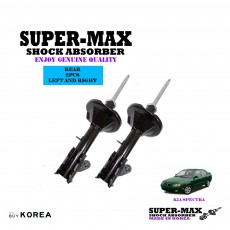 Kia Spectra Rear Left And Right Supermax Gas Shock Absorbers